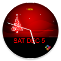 Xmas Clock for AndroidWear icon