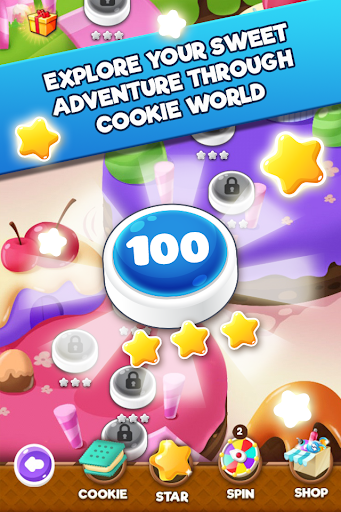 Cookie Blast 2 - Crush Frenzy Match 3 Mania apkmartins screenshots 1