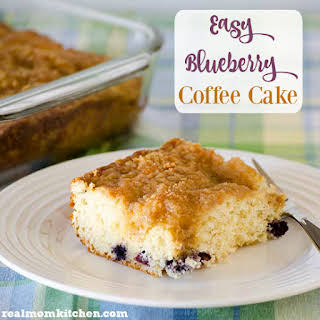 Easy Blueberry Coffee Cake.