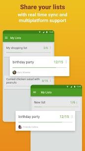 Grocery Shopping List – Listonic Premium v6.17.5 Cracked APK 2