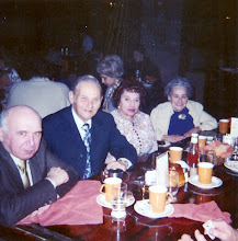 Photo: Leo Heyman, Leo Metzner, Mynette Heyman Pound, Celia Heyman Marks