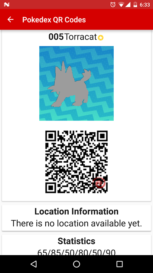 RotomDex - Alola QR Codes- screenshot