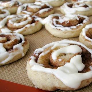 Cinnamon Roll Sugar Cookies? Yes!