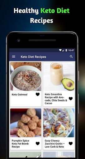 Keto Diet Recipes: Healthy Easy Keto Recipes App 1.0 screenshots 1