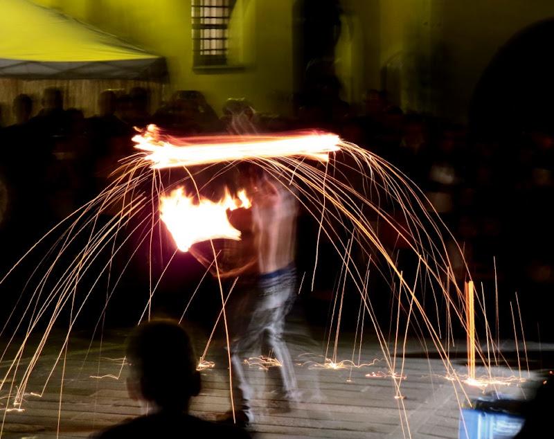Giochi di fuoco di giosensei