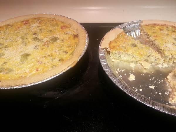 Ms. Deb Crain's Recipe...thank You. Eggplant Quiche'