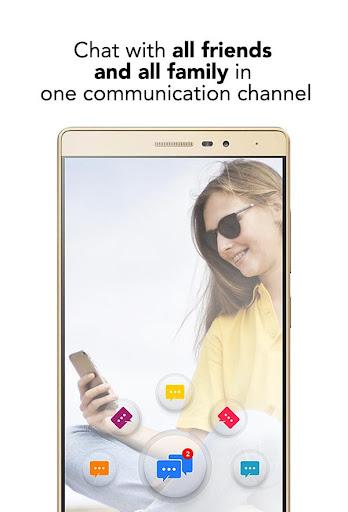 Mobile Messenger - Instant & Lite & Free Chat App 1.2 screenshots 1