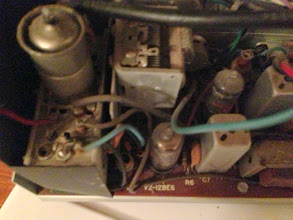 Photo: Left most side of the board. FM Tuning components, maybe?