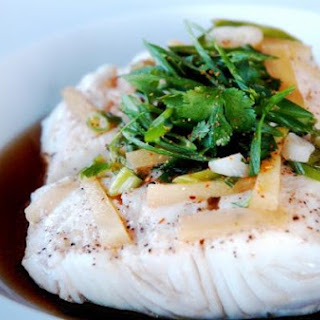 Steamed Halibut.