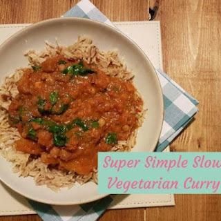 Slow Cooker Vegetarian Curry.