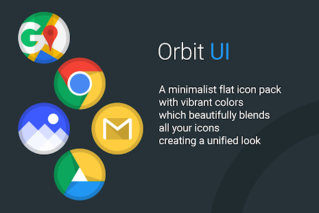 Orbit UI - Icon Pack Screenshot