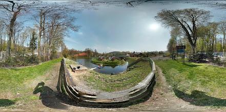"""Photo: Łowisko Na Wyspie """"Pod Kopą Biskupią"""" -  Rybaření na ostrově, """"pod Biskupskou kupou"""" v obci Pokrzywna"""