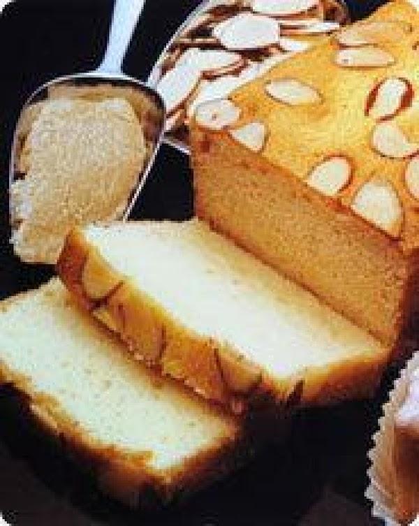 Almond Lemon Pound Cake Recipe