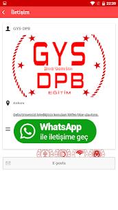 GYS DPB Görevde Yükselme Sınavı 8