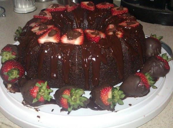 Double Chocolate Bundt Cake Recipe