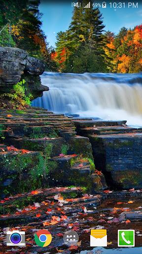 Waterfall Live Wallpaper (PRO)