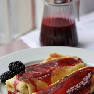Blackberry Blintzes
