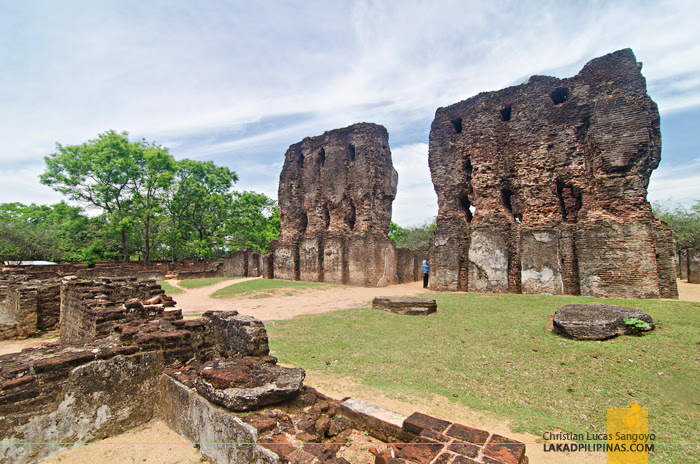 Polonnaruwa Ancient City Sri Lanka Royal Palace