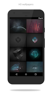 Glass Pack – Transparent Theme (Pro Version) 3.2.3 Patched Latest APK Free Download 3