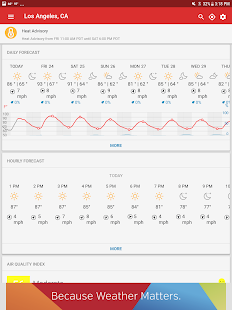 Weather data & microclimate : Weather Underground Screenshot
