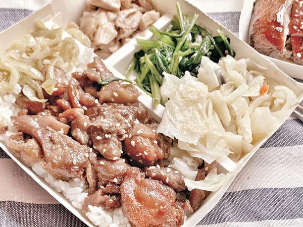 台南便當 台南東區 一飯香 號稱台南最冷門的便當店!獨家鐵板雞排就是台南人愛的口味!