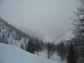 Photo: vista del vallone per Vinadio