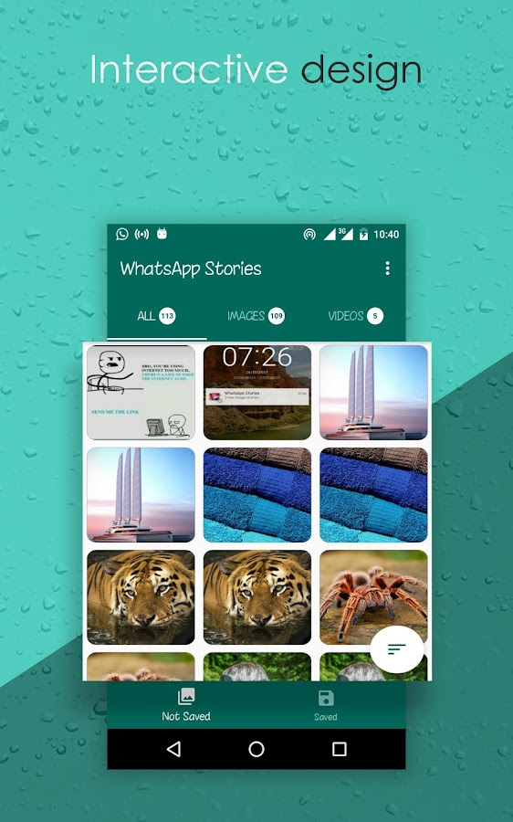 Stories Saver for Whatsapp: captura de pantalla