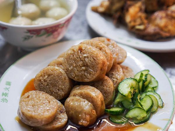 大橋頭黃記大腸煎、燒雞腿|台北 延三夜市–在地庶民小吃