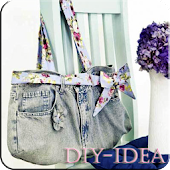 DIY Recycled Jeans Idea