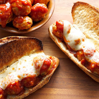Barbecue Meatball Subs
