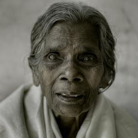 KUTTIYAMMA by Sarudas C.m - People Portraits of Women ( sarudas, kerala, old woman,  )