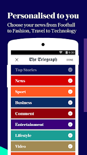 The Telegraph - news- screenshot thumbnail