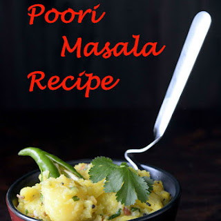 Poori Masala Recipe | South Indian Potato Masala