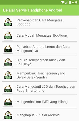 Belajar Servis Handphone Android 1.0 screenshots 2