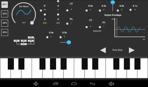 SonaFM Music Synthesizer screenshot 3