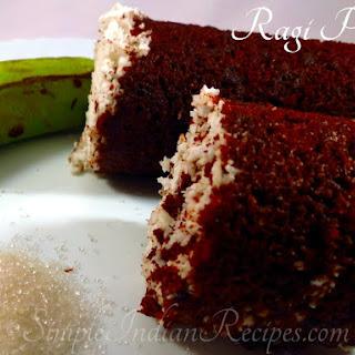(Kezhvaragu Puttu, Nachini Puttu, Finger Millet Steamed Cakes).