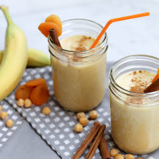 Apricot Chickpea Smoothie.