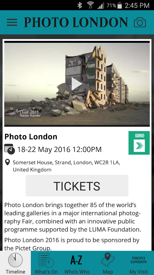 Photo London- screenshot
