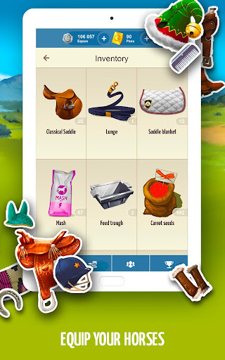 Howrse - free horse breeding farm game 4.0.5 screenshots 12