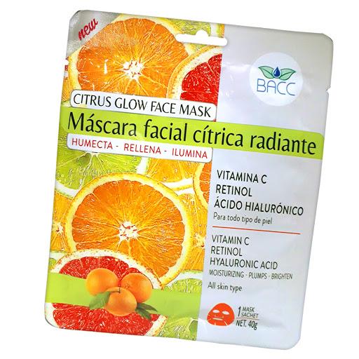 Mascarilla Facial Bacc Citrica Radiante 1Und