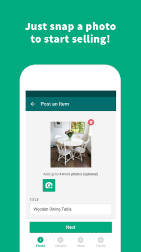 Screenshot 2 for OfferUp's Android app'