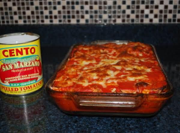 Light (baked Not Fried) Eggplant Parmesan Recipe