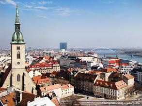 Photo: Pozsony óvárosa és a Duna