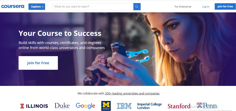 Online Learning Platform - Coursera