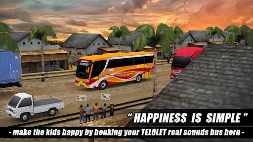 Telolet Bus Driving 3D 1.2.5 screenshots 8