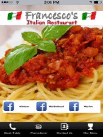 Francescos Restaurants- screenshot