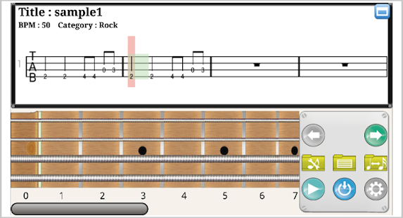 Guitar guitar tablature maker : Bass Tab Creator - Android Apps on Google Play