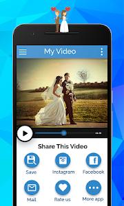 Anniversary Video Movie Maker screenshot 3