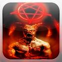 Demonic Demon Fire LWP icon