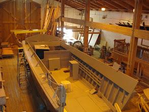 Photo: 2009 restoration of Higgins Boat - NC Maritime Museum's Watercraft Center on Taylor's Creek